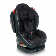 Автокресло Bertoni ARTHUR ISOFIX (0-25кг) (black leather)